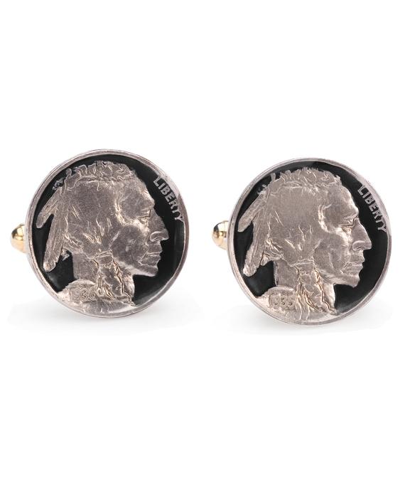 Vintage Buffalo Nickel Cuff Links As Shown