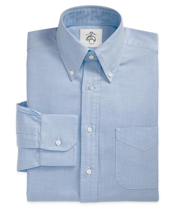 Button-Down Oxford Shirt Blue