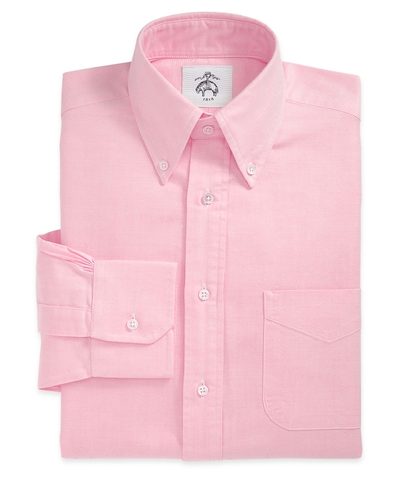 Button-Down Oxford Shirt Pink