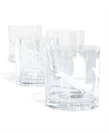 Audubon Crystal Glasses