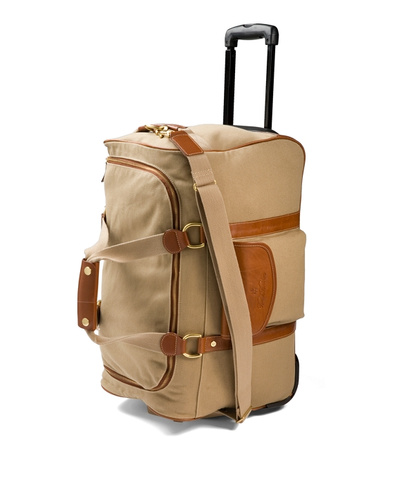 Canvas Leather Trolley British Tan
