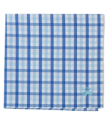 Bold Tattersall Pocket Square