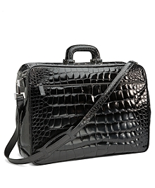 Glazed Alligator Travel Bag