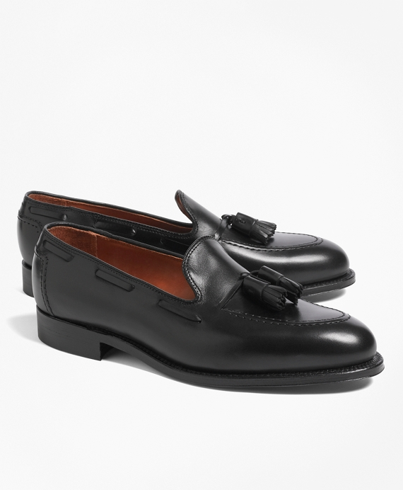 Tassel Loafers Black