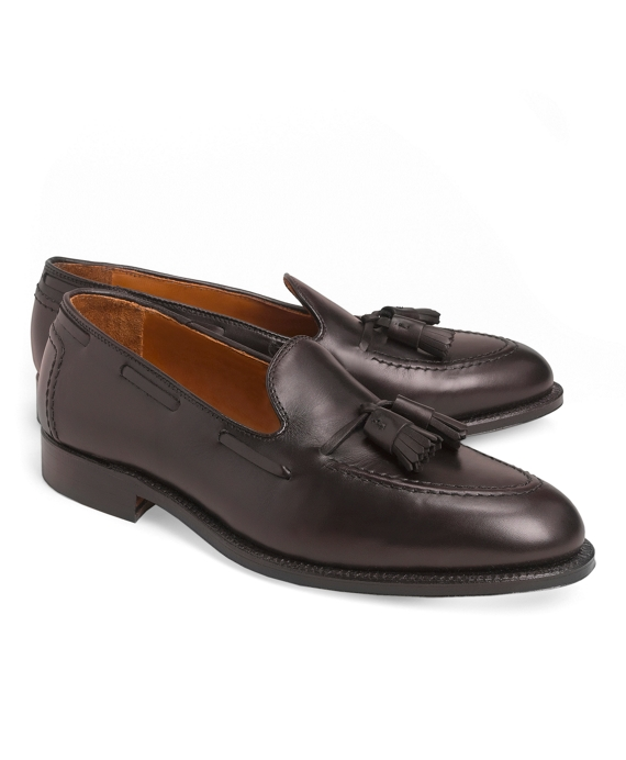 Calf Tassel Loafers Burgundy
