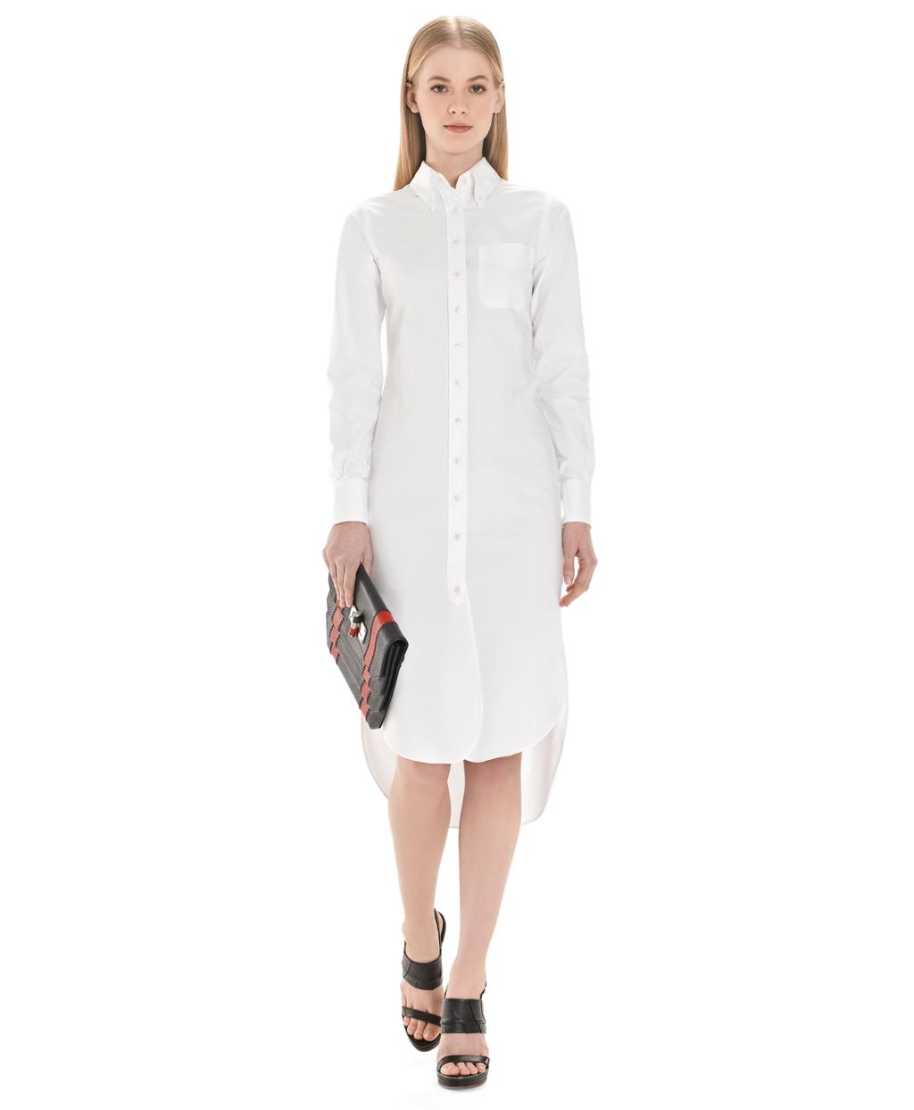 White shirt dress gunda daras for White dress workout shirt