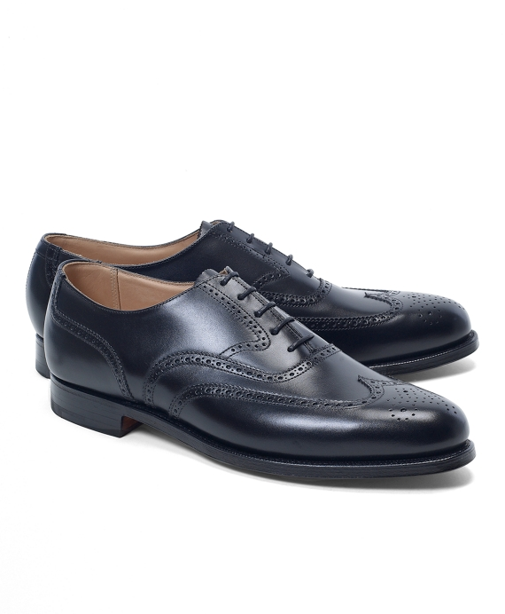 Peal & Co.® Wingtip Balmorals Black