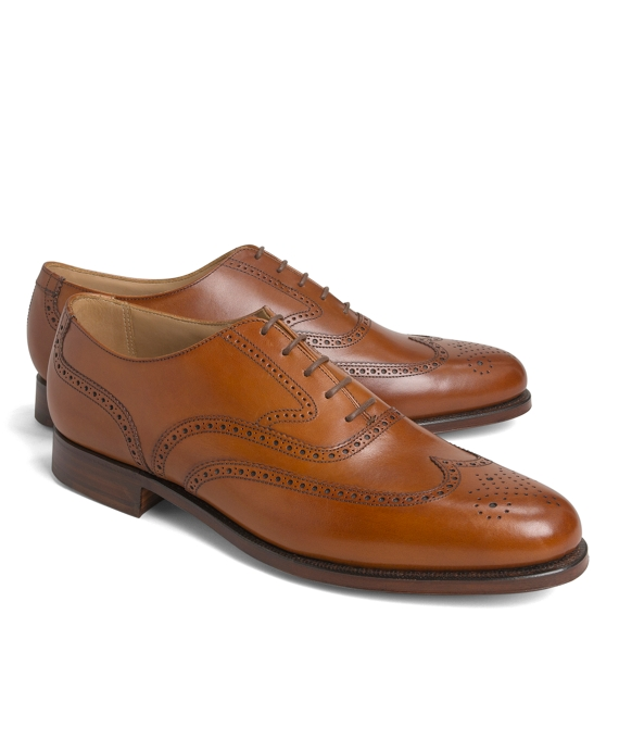 Peal & Co.® Wingtip Balmorals Tan