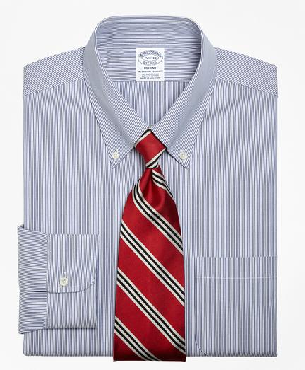 Regent Fitted Dress Shirt, Stripe