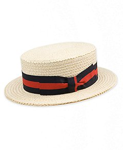 Brooks Brothers | Men | Hats | Boater Hat :  boater hat straw hat hat boater