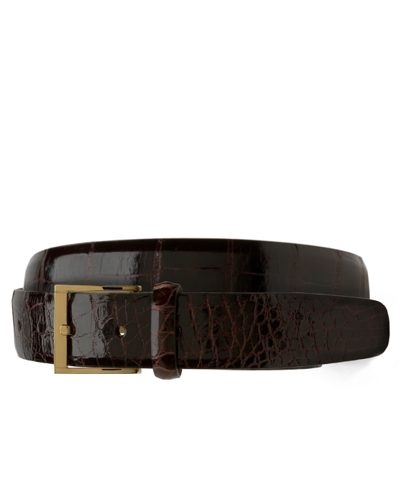 Alligator Belt Brown