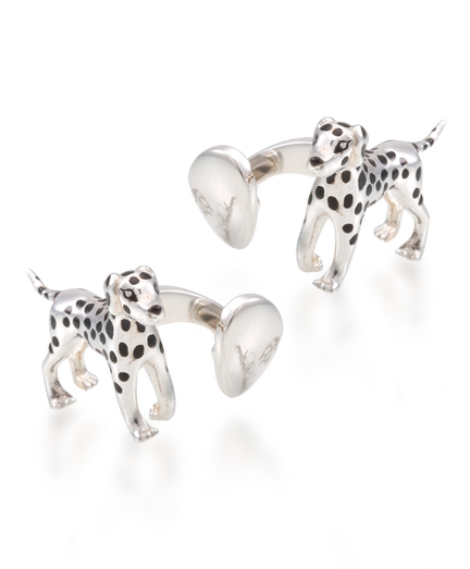 Dalmatian Cuff Links
