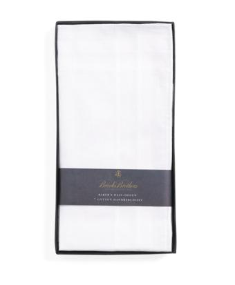 Pure Cotton Handkerchiefs - 7pk