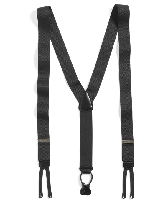 Extra-Long Formal Suspenders Black