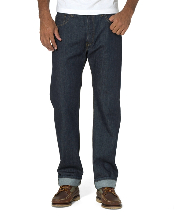 Levi's® 501 Original Fit for Brooks Brothers Dark Tumble
