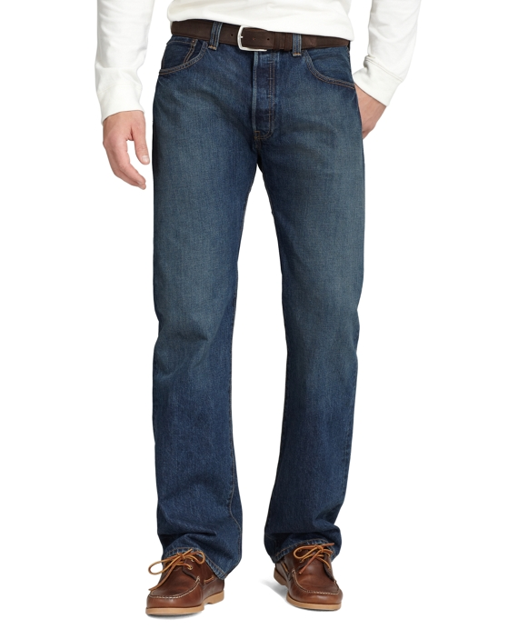 Levi's® 501 Original Fit for Brooks Brothers Dry Scraped Wash
