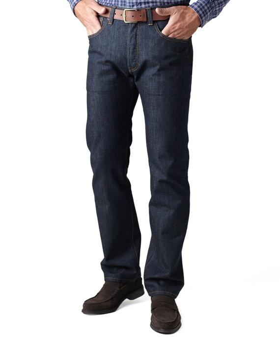 Levi's® 514 Slim Fit for Brooks Brothers Dark Rinse Wash