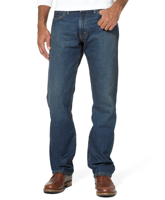 Levi's® 514 Slim Fit for Brooks Brothers Flint Wash