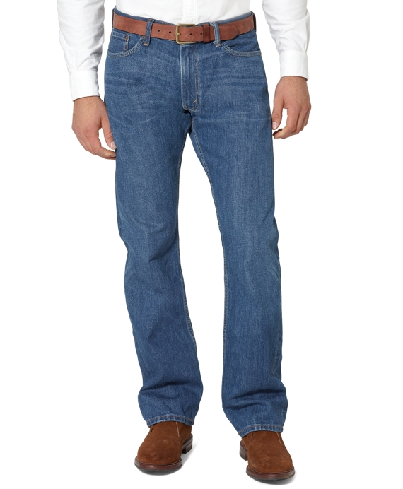 Levi's® 514 Slim Fit for Brooks Brothers Moody Blue