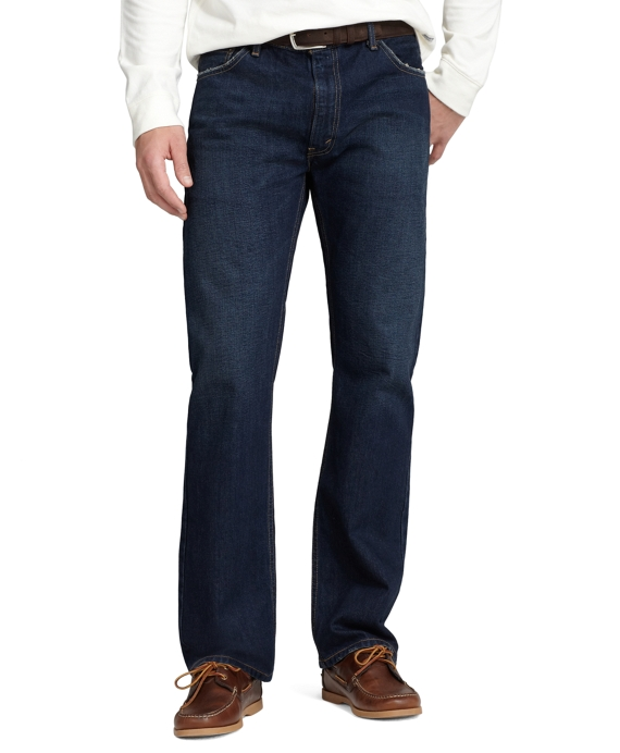 Levi's® 505 Regular Fit for Brooks Brothers Dark Worn Wash