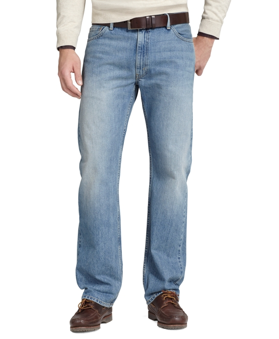 Levi's® 505 Regular Fit for Brooks Brothers Indigo Iconic Wash
