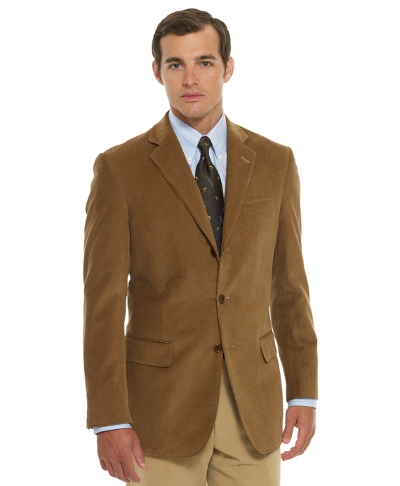 Regent Fit Corduroy Sport Coat - Brooks Brothers