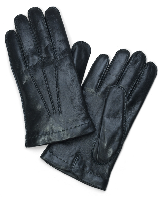 Lambskin Cashmere Lined Gloves Forest Green