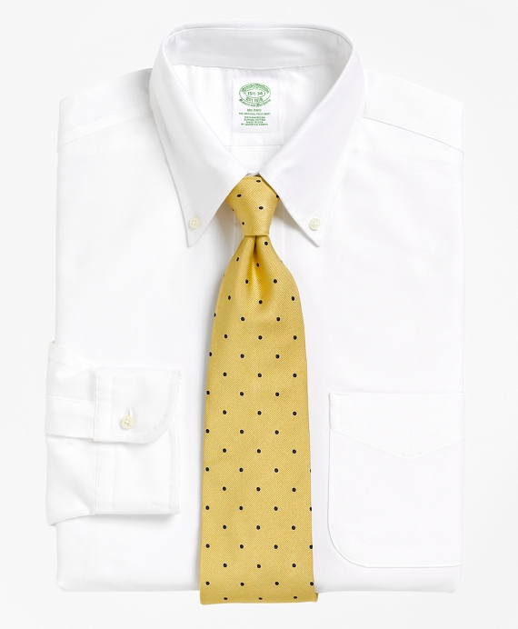 Extra-Slim Fit Button-Down Collar Dress Shirt White