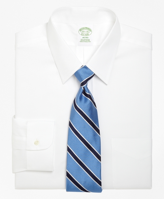 Milano Fit Forward Point Collar Dress Shirt White
