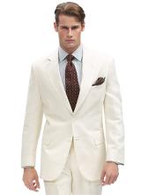 Two-Button Linen Suit