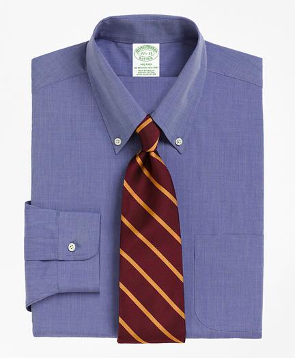 Milano Slim-Fit Dress Shirt, Button-Down Collar