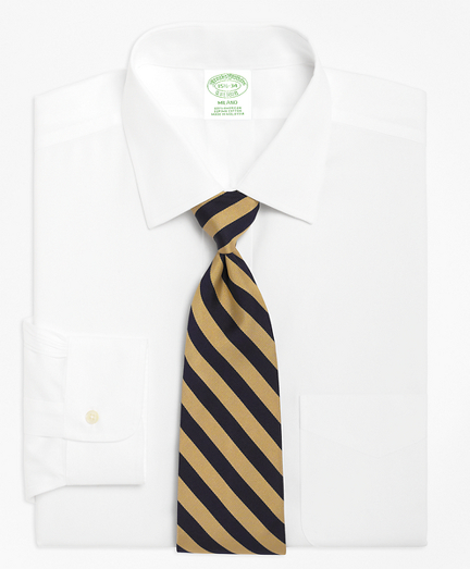 Milano Slim-Fit Dress Shirt, Spread Collar