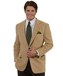 Two-Button Camel Hair Sport Coat