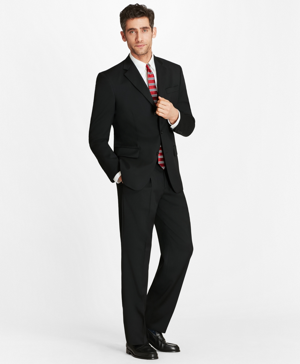 Men's Regular Fit Three-Button 1818 Suit | Brooks Brothers