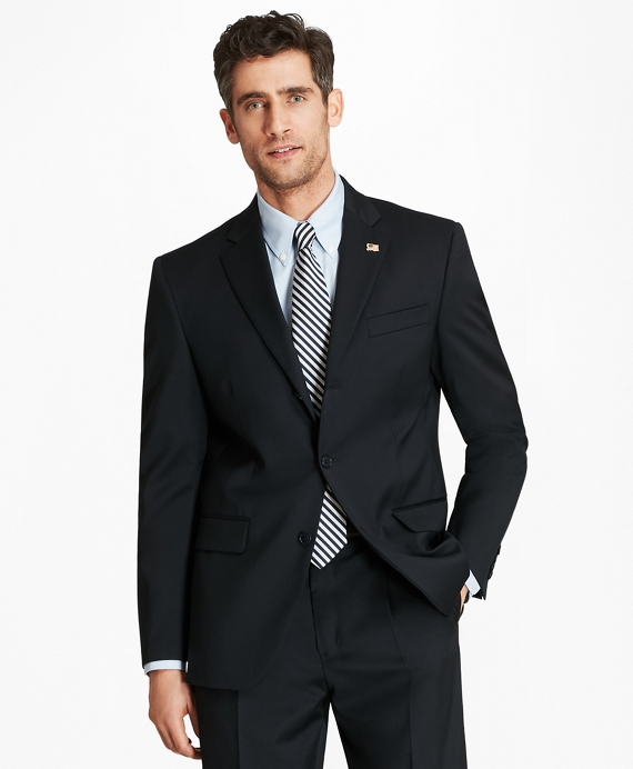 Madison Fit Three-Button 1818 Suit Navy