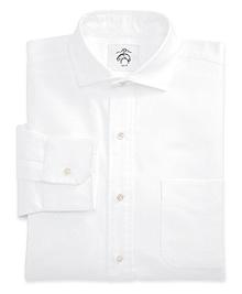 Black Fleece Spread Collar Shirt