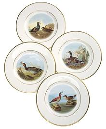 Audubon Dessert Plates