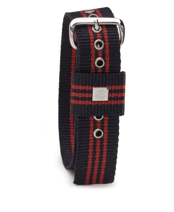 Stripe Watchband Navy-Red