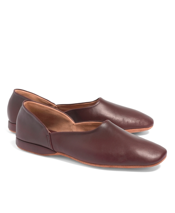 Nappa Full Slippers Burgundy