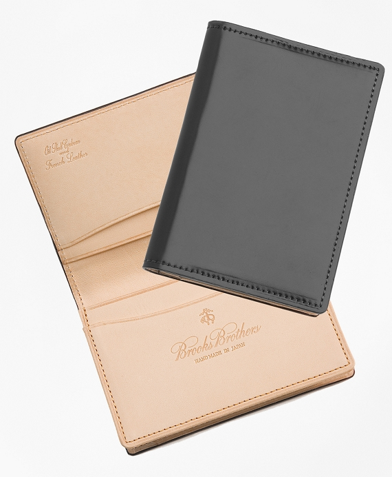 Cordovan Card Case Black