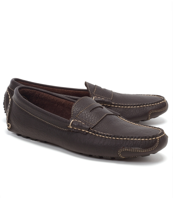 American Bison Drivers Dark Brown