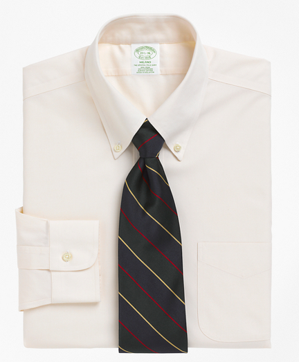 Milano Slim-Fit Dress Shirt, Non-Iron Button-Down Collar