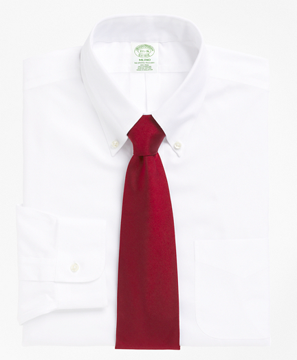 Milano Slim-Fit Dress Shirt, Non-Iron Button-Down Collar