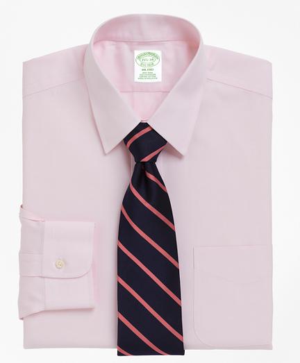 Milano Slim-Fit Dress Shirt, Non-Iron Point Collar