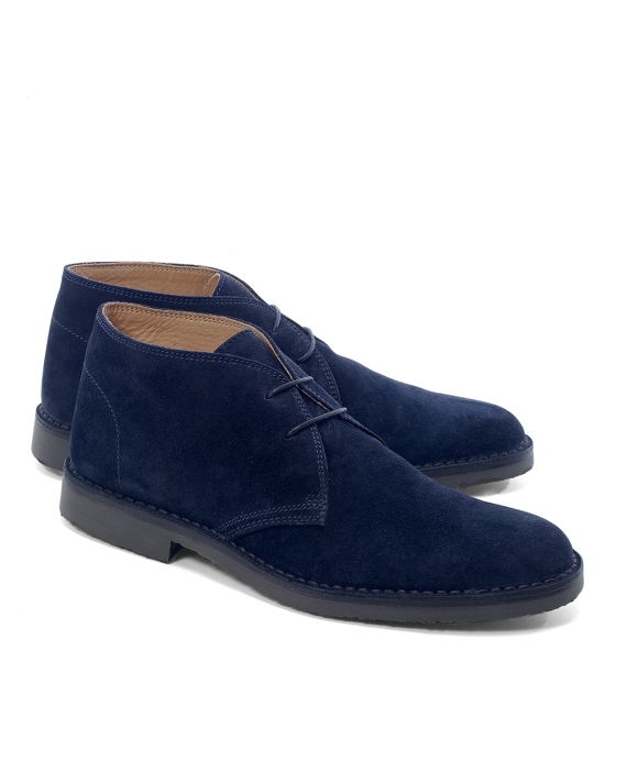 Peal & Co.® Chukka Field Boots Navy