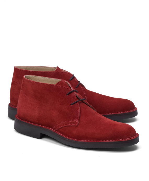 Chukka Field Boots Red