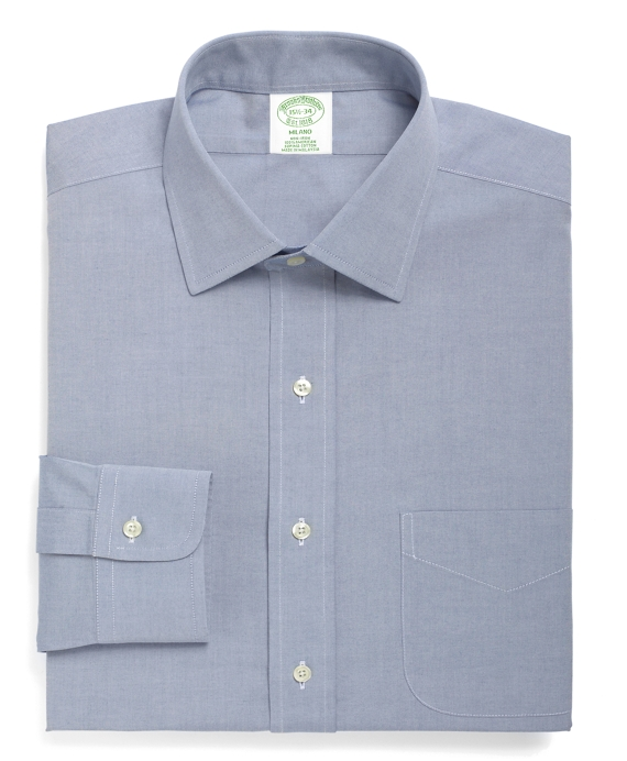 Men 39 s non iron extra slim fit spread collar dress shirt for What is a spread collar shirt