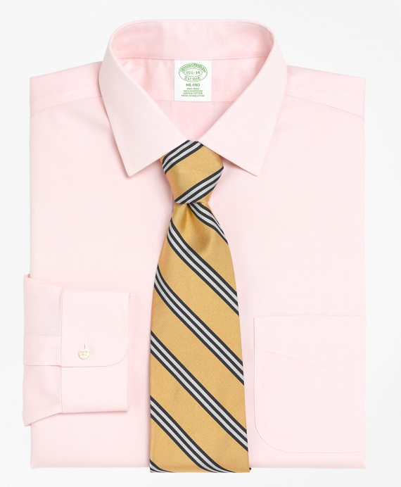 Non-Iron Extra-Slim Fit Spread Collar Dress Shirt Pink