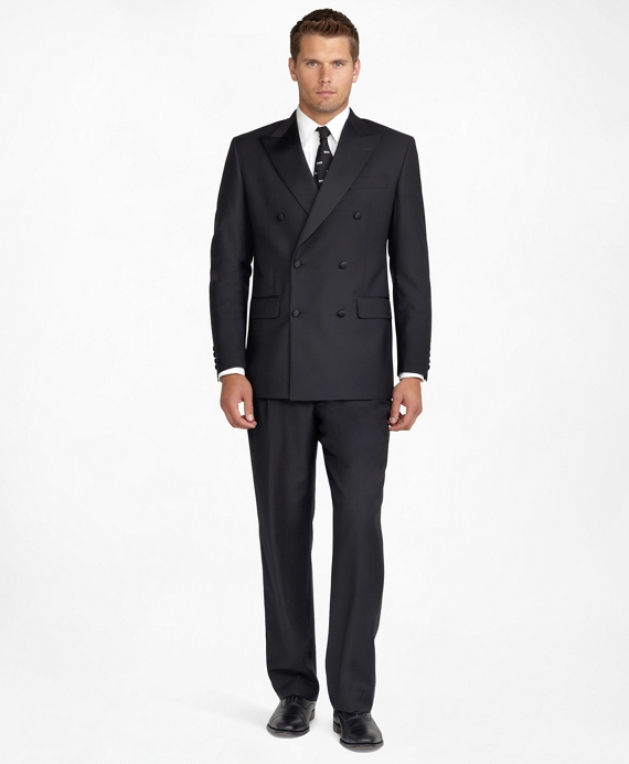 1920s Mens Formal Wear Clothing Double-Breasted Tuxedo Jacket $898.00 AT vintagedancer.com