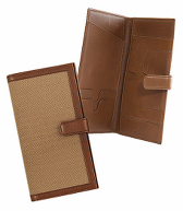 Golden Fleece Leather and Oxford Travel Wallet
